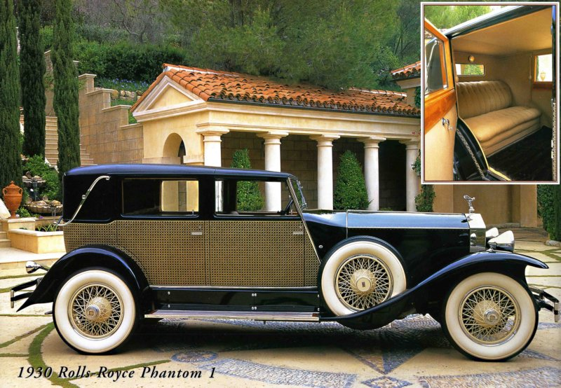1930 Rolls-Royce Phantom I Marlborough Town Car (1)